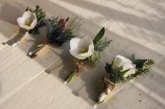 Flower Design Events: White Christmas Wedding at Hoghton Tower for Pamela & Robert