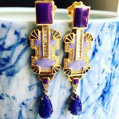 Purple Lilac, Sterling Silver Jewelry, My Design, Perfume Bottles, Gems, Instagram Posts, Rhinestones, Perfume Bottle, Jewels