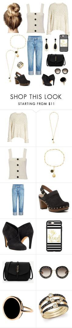 """""""Untitled #204"""" by tchantel ❤ liked on Polyvore featuring Free People, Foundrae, 10 Crosby Derek Lam, Brunello Cucinelli, Dansko, Casetify, Gucci, Ginette NY, Bloomingdale's and Effy Jewelry"""