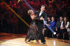 """Sabrina and Louis. Drew Lachey looks on, """"Oh shit, they're better than my brother tonight."""" Week Two, All Stars"""