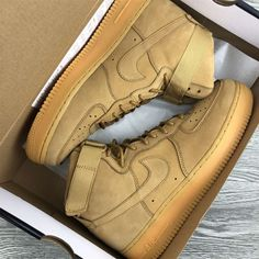 """Nike Air Force 1 High 07 LV8 Flax UK 6 7 8 9 10 11 Limited Crep /""""882096-200/"""""""