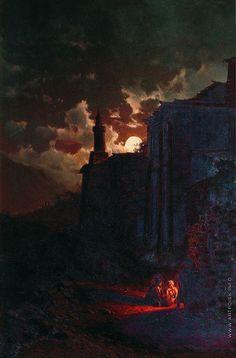 Занковский Илья Николаевич (1832—1919) - Лунная ночь