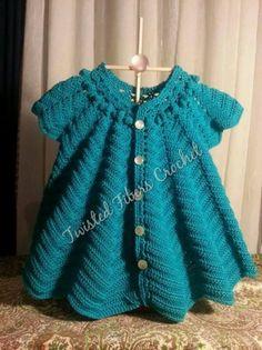 Vintage Style Hand Crocheted Heirloom Dress