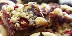 Old World Raspberry Bar Cookies