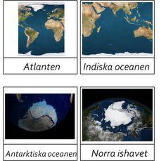 Fakta och bilder på världens hav