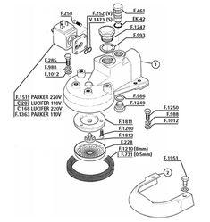 Espresso-Machine-Parts/Faema/Group-E91-E92-E97-E98-Due