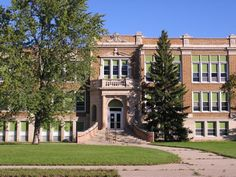 This was part of my old high school in Bemidji, MN, where I grew up.  Oh the memories....