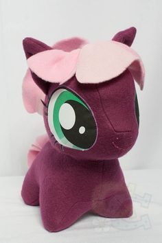 Chibi Cheerilee MLP Hand-Made Custom Craft Plush || Cutie Corral via Etsy