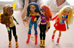Gift Ideas for Girls - My little girls love the new DC Super Hero Girls! #ad #gifts @ToysRUs