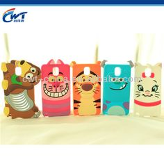 3D cartoon animal cell phone case for samsung note 3  - Competitive price  - Various colors available  - Small MOQ