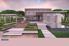 The Light of a Red Moon: Florida's Luna Rossa by KZ Architecture