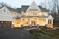 Exterior Siding - SHERWIN WILLIAMS MINDFUL GRAY  Exterior Trim - SHERWIN WILLIAMS SUPER WHITE  I do not have the stone choice, it was cultur...