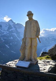Grossglockner panorámaút, Ausztria Salzburg, Statue, Sculptures, Sculpture
