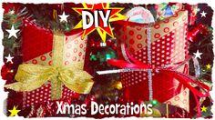 ★ Buon Natale ★ DIY: Scatoline Decorative ★ Riciclo Creativo
