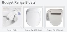 "Bidet Seats commonly known as a ""japanese toilet"" or a ""washlet"" electronic bidet"