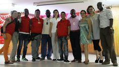 La Viceministra de Cultura con el equipo departamental y nacional
