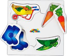 Set 2: Includes: Farm, Playing, Pets and Garden each with different colour pegs. #madeinbritain