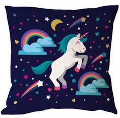 Cute unicorn with rainbow and stars Free Vector Real Unicorn, Unicorn Art, Cute Unicorn, Rainbow Unicorn, Unicorn Humor, Unicorn Painting, Cartoon Unicorn, All Mythical Creatures, Unicornios Wallpaper