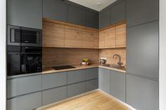 Industrial Kitchen Design, Kitchen Design Open, Kitchen Cabinet Design, Interior Design Kitchen, Loft Kitchen, Modern Kitchen Cabinets, Kitchenette Design, Küchen Design, Kitchen Remodel