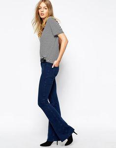 MiH Jeans | MiH Jeans The Skinny Marrakesh Flare Jean at ASOS