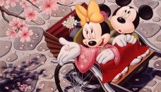Minnie Y Mickey Mouse Cartoon Wallpaper Car Pictures