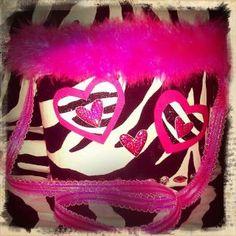 Valentine purse/box for Elementary girls