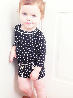 Kids fashion - rash guard bathing suit - babygap
