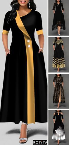 Half Sleeve Printed Maxi Dress Early Fall 2019 - How To Be Trendy Latest African Fashion Dresses, African Dresses For Women, Women's Fashion Dresses, Stylish Dresses For Girls, Dressy Dresses, Sexy Dresses, Ivory Dresses, Denim Plus Size Dresses, Latest Dress For Women