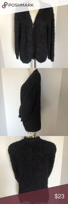 CLEARANCE NWOT SOOO SOFT KENSIE NWOT beautiful cozy and comfortable black cardigan Kensie Sweaters Cardigans