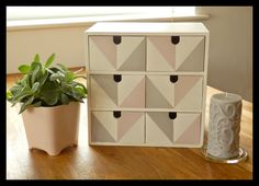 Lovely! The Jam Diaries: DIY Project! IKEA Make Up Storage Drawers
