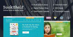Free Responsive Bookshelf Books Media Online Store Wordpress Theme & Template at WeebFast Website Design Inspiration, Design Blog, Online Library, Books Online, Ecommerce, Responsive Template, Electronic Books, Shops, Layout