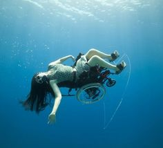 Video: Underwater wheelchair is the best seat in the house | DVICE