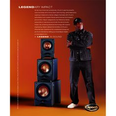 """""""As hip-hop's foremost revolutionary, Chuck D uses his powerful voice and sharp wit to throw down hard-rhyming, opinionated lyrics. Layering in beats and a dense collage of samples with Chuck's authoritative tone creates intense performances full of passion and emotion. Klipsch designed its new Reference Series subwoofers to reproduce sound with the same forceful impact."""" For more information on the Klipsch Reference series, go to  http://www.klipsch.com/reference"""