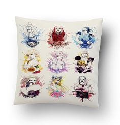 Lady Gaga Collage the Fame Pillow Cover