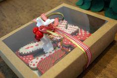 biscoitos feliz natal na caixa