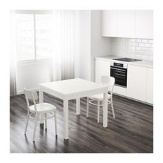 BJURSTA Produživi sto - bela - IKEA