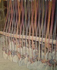 ww loom at Castell Henllys