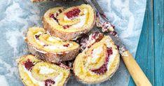 Sommarrulltårta med citron och mascarpone   Recept från Köket.se Baking Recipes, Cake Recipes, Fika, Doughnut, Tart, Cheesecake, Muffin, Lemon, Sweets
