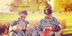 S Air Force women breastfeeding.S Air Force women breastfeeding.