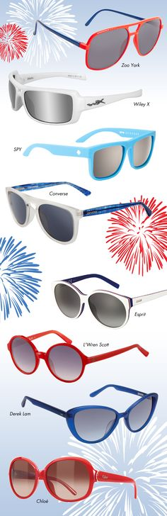4th of July spirit glasses all year round!