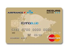 Air France / KLM | Flying Blue Mastercard Gold | Resurs Bank Norway