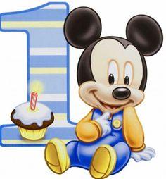 fotos de mickey mouse bebe celebrando 1 año