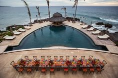 The always perfect pool at the beautiful Hacienda Cerritos