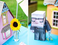 pixar up themed party | Disney/Pixar's UP! Inspired Birthday Party