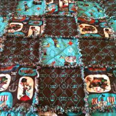 Baby Ryan's Pirate Rag Quilt