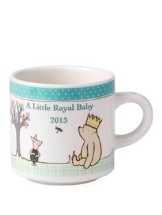 Classic Pooh - A Little Royal Baby 2013 Mug