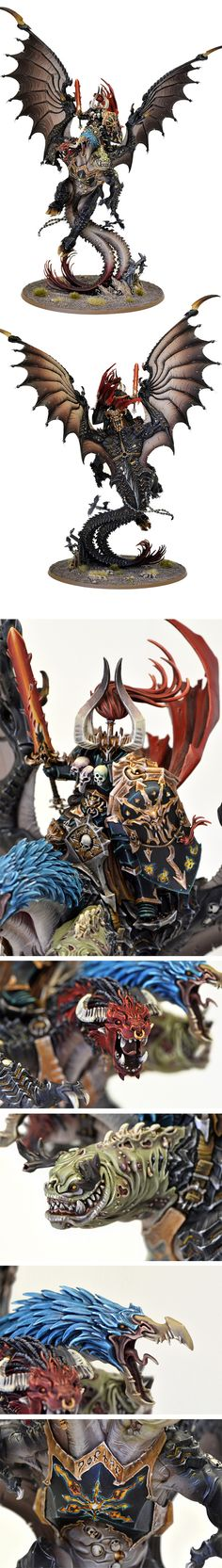 Archaon, The Everchosen...except Slaanesh is not represented...still a great work, TA!