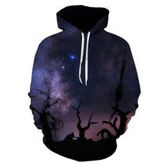Mens Hoodie Universe and Ice Cream Sweate Sweatshirt Mens Casual Hoodie Casual Top Hooded