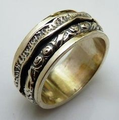Spinner Ring Celtic Silver