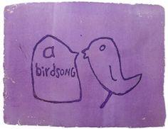 birdsong 2 by Stefanie Neumann over Galerie Kruse http://galeriekruse.bigcartel.com